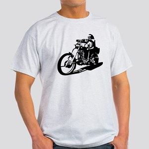 moto biker anarchy Light T-Shirt