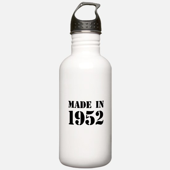 Made in 1952 Sports Water Bottle