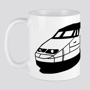train tgv locomotive Mug