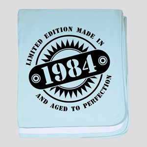 LIMITED EDITION MADE IN 1984 baby blanket