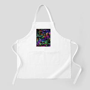 Rainbow Acid Swirls Apron