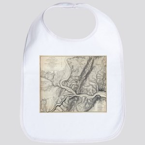 Vintage Map of Harpers Ferry (1863) Bib