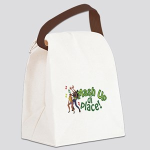 Mash Up Di Place Canvas Lunch Bag