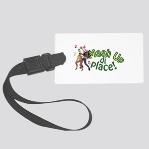 Mash Up Di Place Luggage Tag