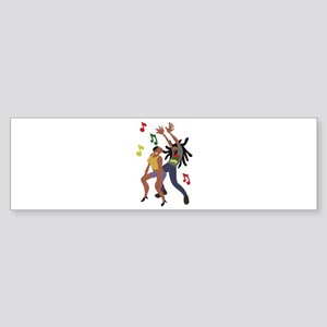 Jamaican Dancers Bumper Sticker