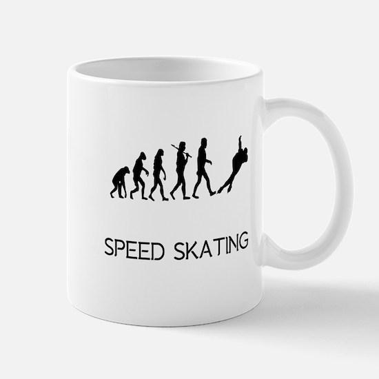 Speed Skating Evolution Mugs