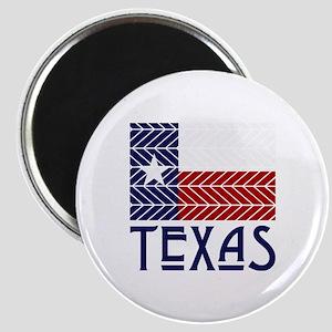 Chevron Texas Magnet
