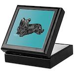 Skye Terrier, Black Keepsake Box