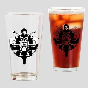 trike biker Drinking Glass