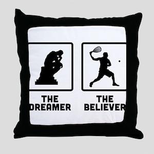 Racquetball Throw Pillow
