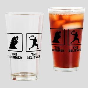 Racquetball Drinking Glass