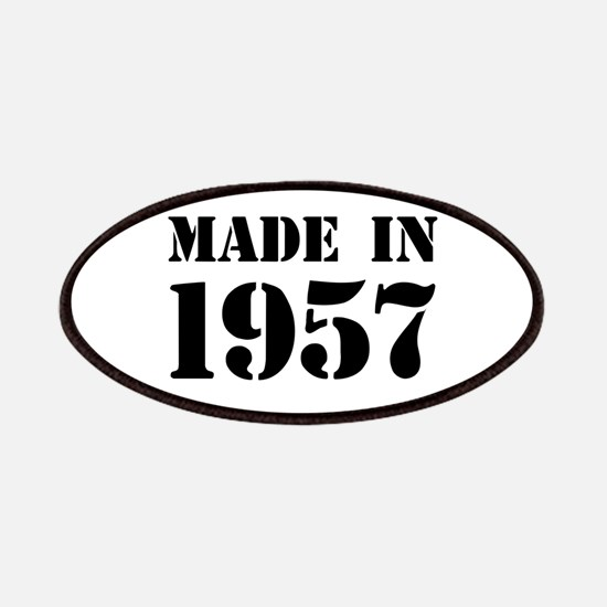 Made in 1957 Patch