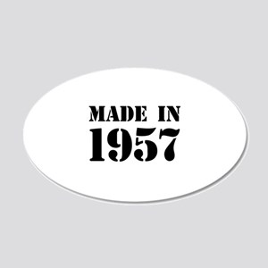 Made in 1957 Wall Sticker