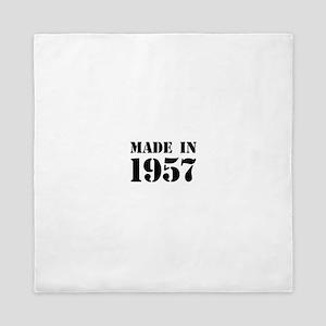 Made in 1957 Queen Duvet
