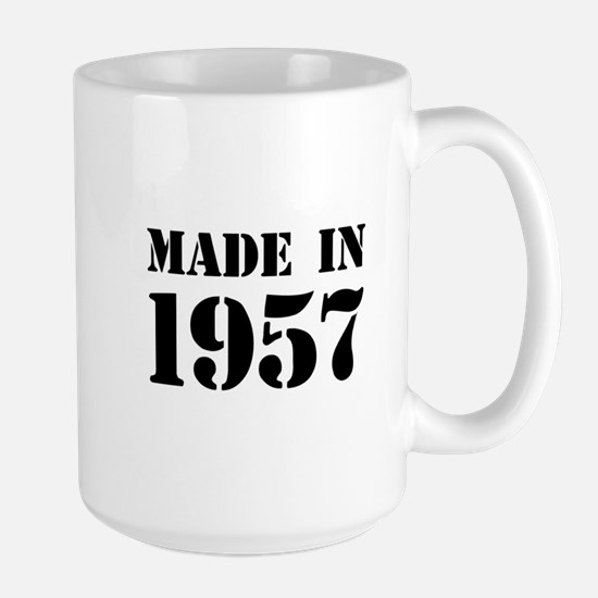 Made in 1957 Mugs