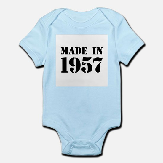 Made in 1957 Body Suit