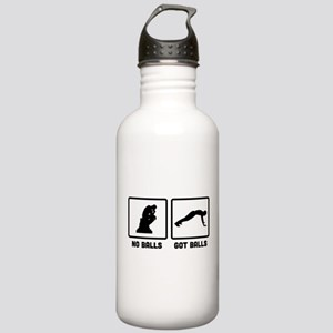 Push Up Stainless Water Bottle 1.0L