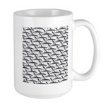 School of Megalodon Sharks Mugs