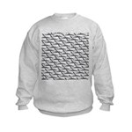 School of Megalodon Sharks Sweatshirt