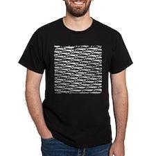 School of Megalodon Sharks T-Shirt