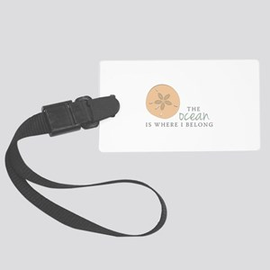 The Ocean Luggage Tag