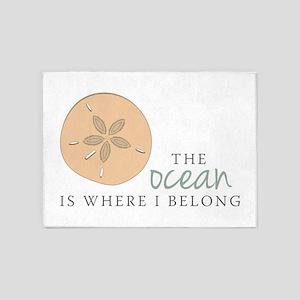 The Ocean 5'x7'Area Rug