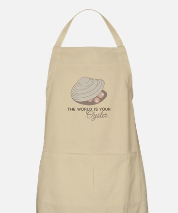 World Is Oyster  Apron