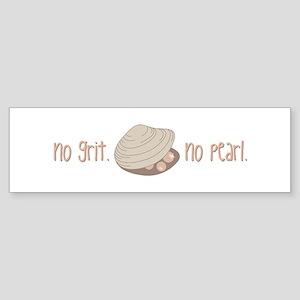 No Pearl Bumper Sticker
