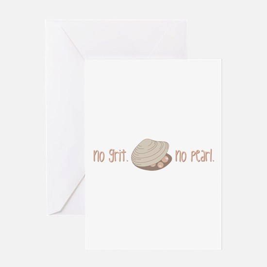 No Pearl Greeting Cards