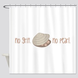 No Pearl Shower Curtain