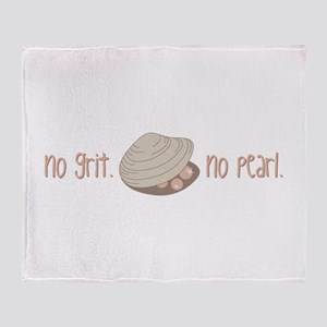 No Pearl Throw Blanket
