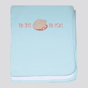 No Pearl baby blanket