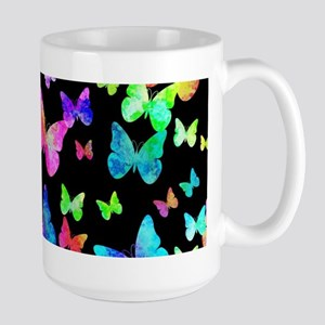 Psychedelic Butterflies Mugs