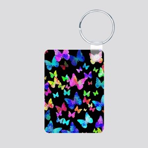 Psychedelic Butterflies Keychains