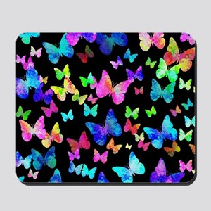 Psychedelic Butterflies Mousepad