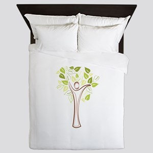 Family Tree Queen Duvet