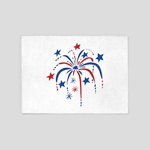 Fireworks 5'x7'Area Rug