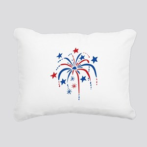 Fireworks Rectangular Canvas Pillow