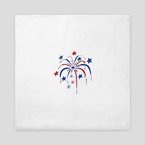 Fireworks Queen Duvet
