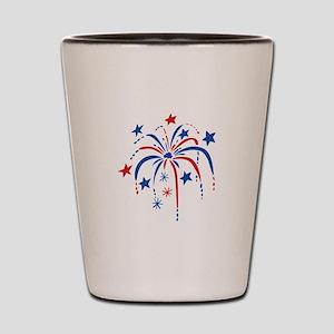 Fireworks Shot Glass
