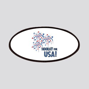 Hooray For USA Patch