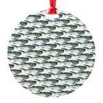 Dunkleosteus pattern Ornament