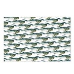 Dunkleosteus pattern Postcards (Package of 8)