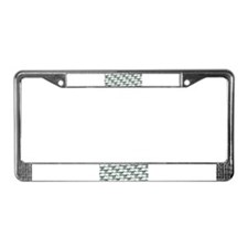 Dunkleosteus pattern License Plate Frame