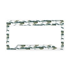 Dunkleosteus pattern License Plate Holder