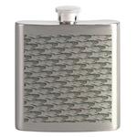 Dunkleosteus pattern Flask