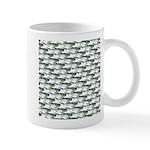 Dunkleosteus pattern Mugs