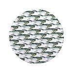 Dunkleosteus pattern Button