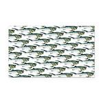 Dunkleosteus pattern Rectangle Car Magnet