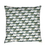 Dunkleosteus pattern Everyday Pillow